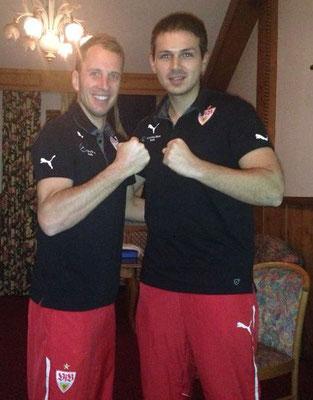 "mit ""Capitano"" Tobias Rathgeb (VfB Stuttgart)"