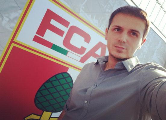 beim FC Augsburg