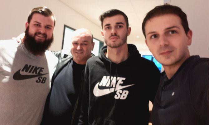 mit Georgios Pintidis vom FC Ingolstadt