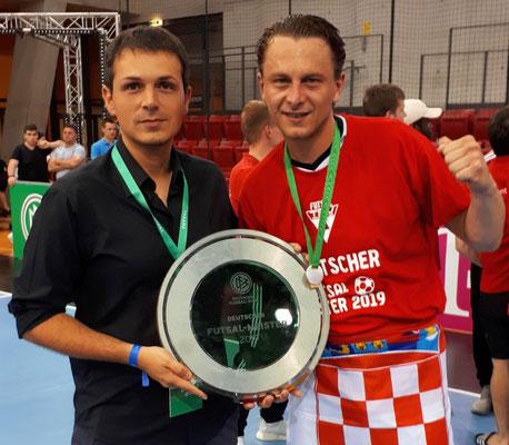 Deutscher Futsal Meister 2019 Franjo Delic