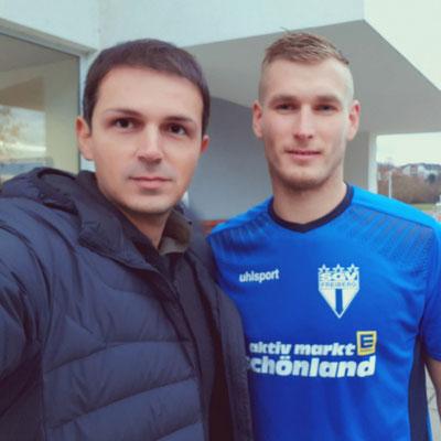 mit Marcel Sökler vom VfB Stuttgart (zuvor SGV Freiberg)