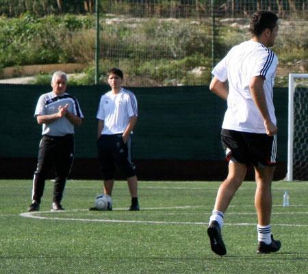 mit Coach Wolfgang Kopp