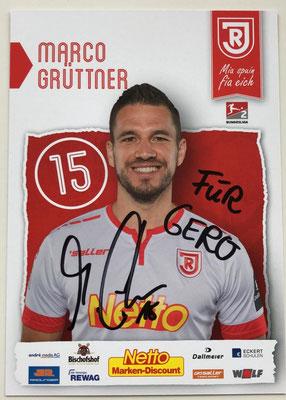 Marco Grüttner vom Zweitligisten SSV Jahn Regensburg