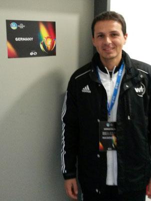 als Verbandsarzt des Württembergischen Fußballverbandes (wfv)