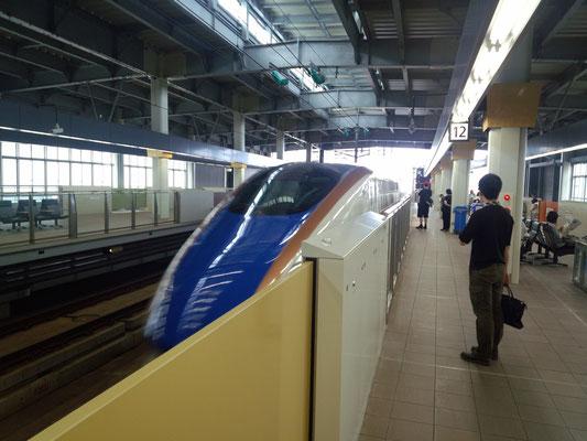 8時50分に北陸新幹線で出発。