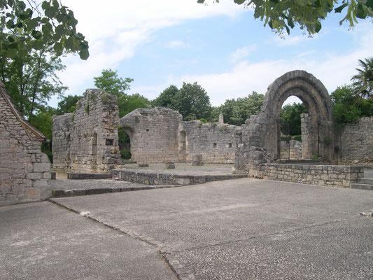 Ruines à L'hospitalet de Rocamadour