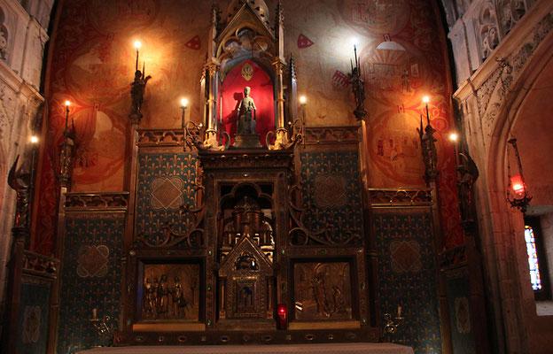 La chapelle Notre Dame de Rocamadour