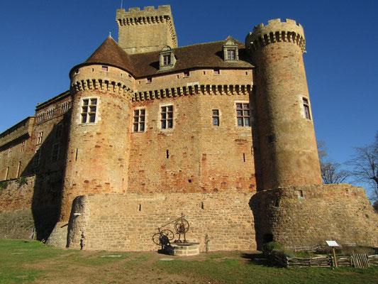 Visite guidée du château de Castelnau