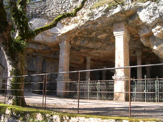 Une grotte ou une carrière à Rocamadour