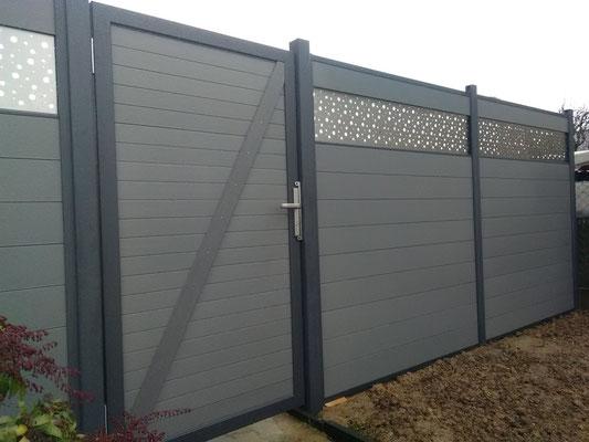 Portail clôture 35140 Saint Ouen des Alleux