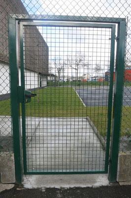 clôture Portillon 35140 saint aubin du cormier