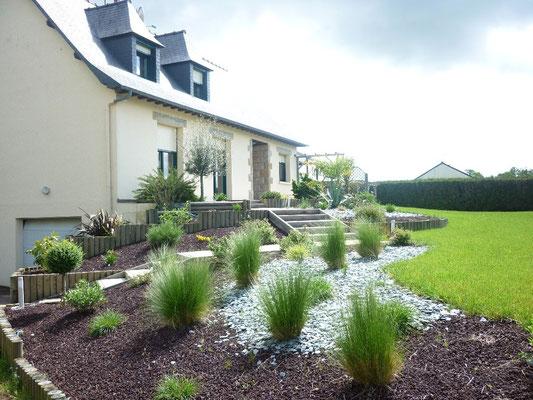 Entreprise de création de jardin 35140 Gosné