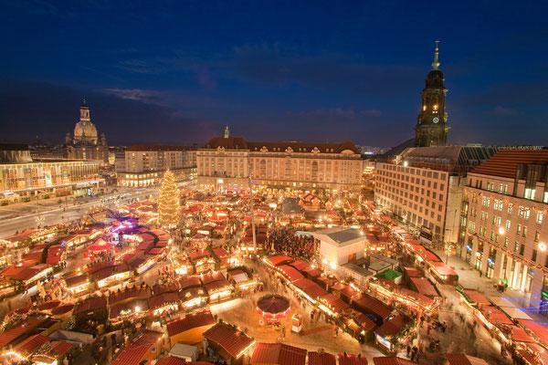 Foto: Strietzelmarkt Dresden, © Sylvio Dittrich