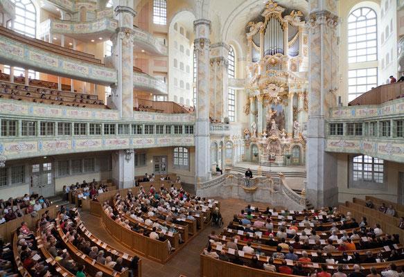 Foto: Frauenkirche Dresden © Günter Bähr