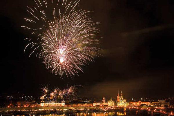 Silvester in Dresden © Sylvio Dittrich
