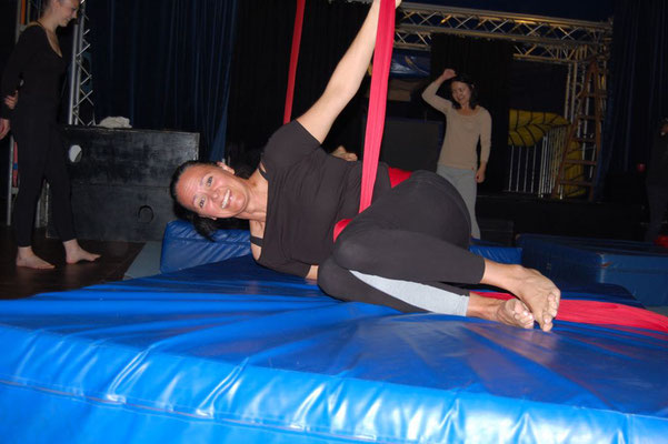 AERIAL SILK bei Circus Abrax Kadabrax, Hamburg - ProMentalis Daniela Lafrentz