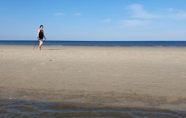 Nordic Walking am Strand & Meer in Sankt Peter Ording, ProMentalis Garding / Eiderstedt