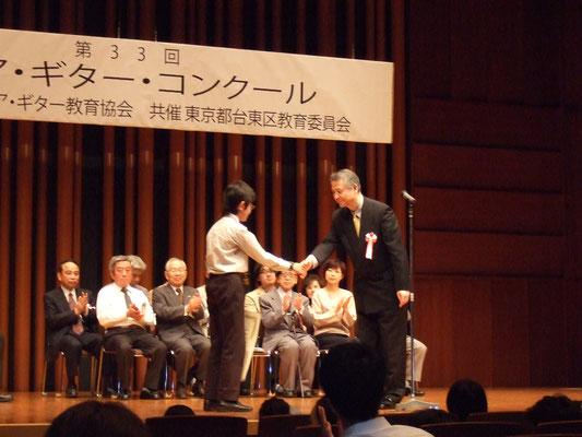 山本大河、ジュニア・ギター・コンクール最優秀賞受賞