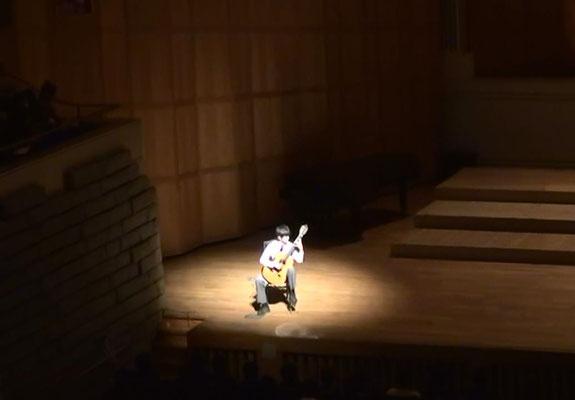 山本大河、ゲスト演奏、つくばノバホールにて