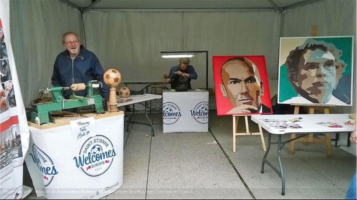Atelier MOF à l'Euro 2016