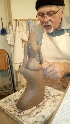 sculpter la terre