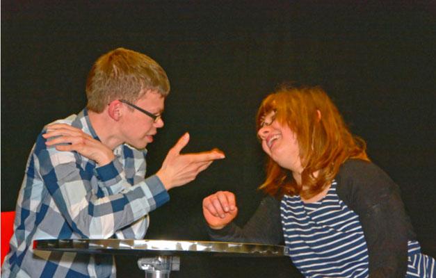 Produktion des Schauspielkurses für Kinder und Jugendliche mit Behinderung der Kulturwerkstatt 32