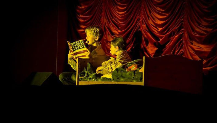 Foto: Wolf Stahl, Uraufführung der Theatergruppe der Lincoln Grundschule München