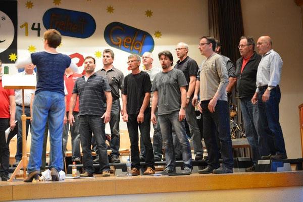 Hauptprobe Konzert 2014