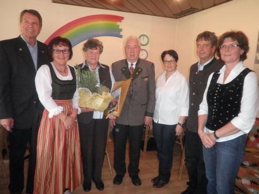 Gründungsobfrau Lotte Kopp wird zur EHRENOBFRAU ernannt