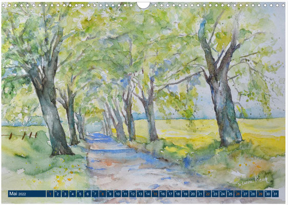 Kalenderblatt Mai Alle bei Lohme