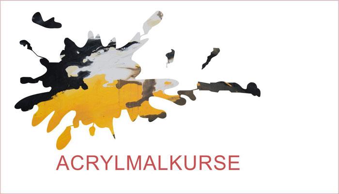 Malen lernen im Acrylmalkurs
