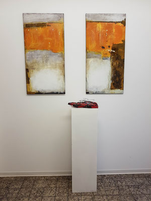 Kleine Bilderausstellung nach dem Workshop