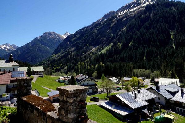 Heidi im Tal, ferienHAUS, Ferienwohnung, Aussicht