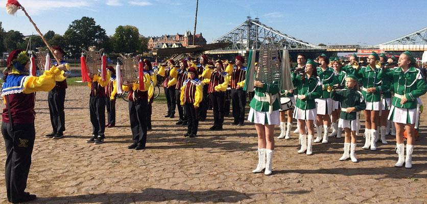 MSZ zur 700 Jahrfeier Loschwitz am 3.Oktober 2015