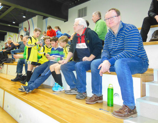 Mitgereiste Eltern bei den Futsalmeisterschaften am 14.Januar 2017