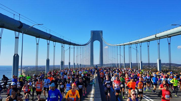 New York Marathon im November 2019