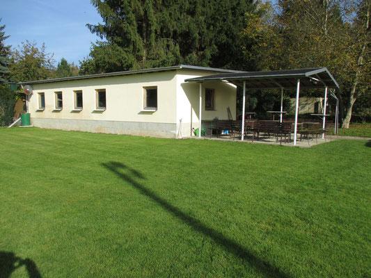 Klubraum am Fußballplatz