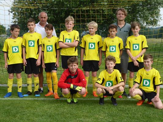 D2 -Juniorenmannschaft 2018/19