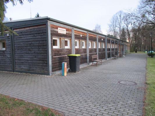 Sozialgebäude mit Klubraum