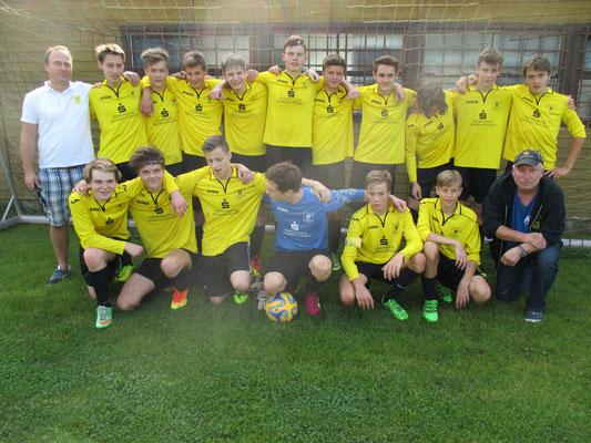 B-Jugendmannschaft 2016/17