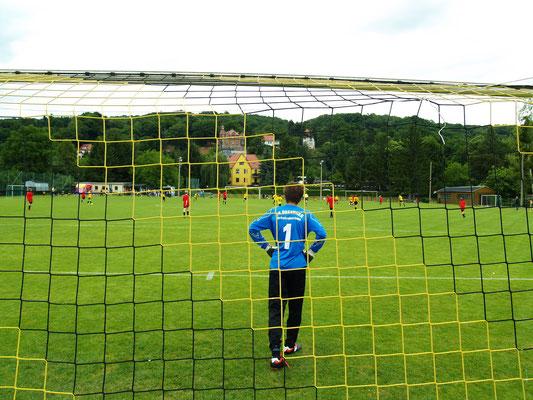 Fußballgroßfeldspiel C-Junioren