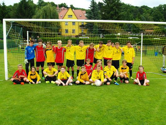 Mannschaften C und D - Junioren im Juni 2014