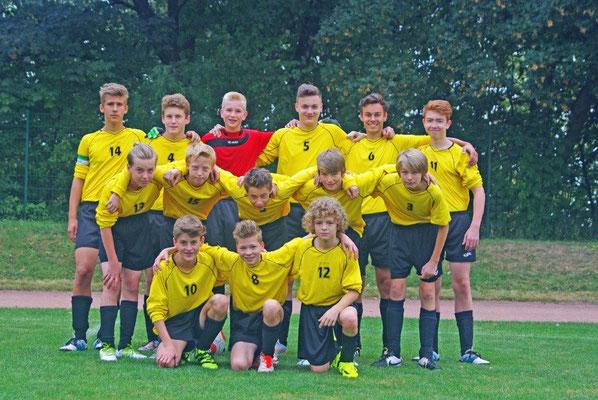 C-Jugendmannschaft 2016/17 spielt in der Kreisoberliga
