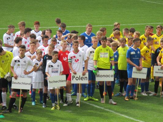 SG DVB ist Polen und belegt einen beachtlichen 7.Platz von 42 teilnehmenden Mannschaften