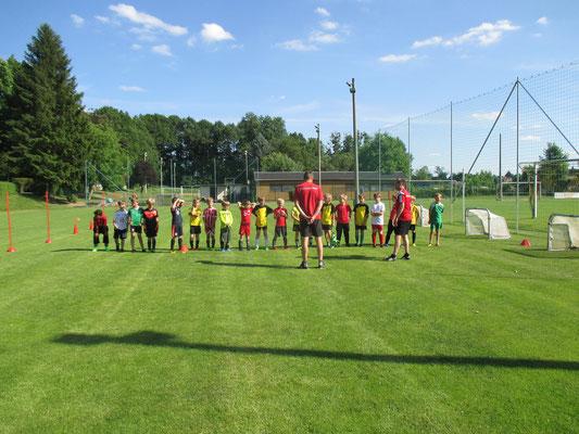 das DFB Mobil bei unseren Jüngsten Spielern am 14.Juni 2017
