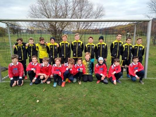 D1 u. D2- Juniorenmannschaften im Spieljahr 2019/20