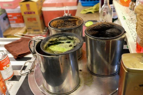 Traditionelle Art, Kaffee hier zu brühen