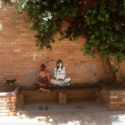Street Art in Geraldton. Es gibt einiges zu entdecken