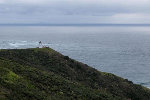 Am Horizont erkennst du die Inseln vom North Cape