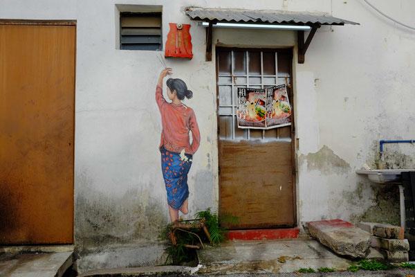 Ernest Zacharevic´s Straßenkunst